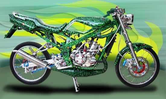 Modif Star Kawasaki Ninja Style