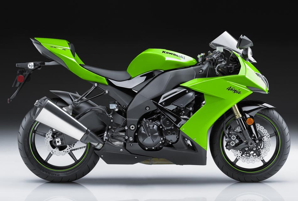2009 Kawasaki Ninja ZX-10R Side View