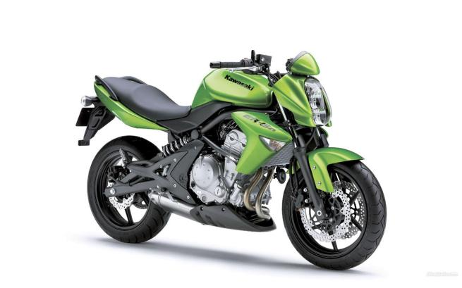 New Kawasaki ER6 Green Edition